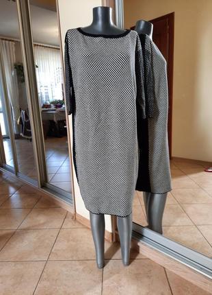 Красивое шерстяное платье 👗большого размера