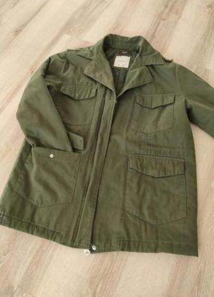 Куртка парка хакки