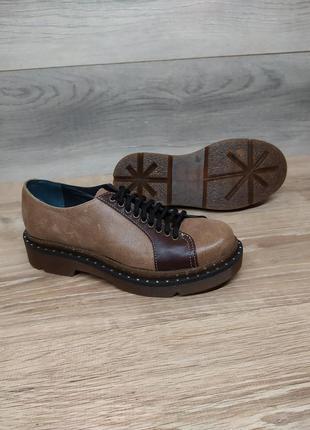 Кожаные туфли 36 р :: натуральная кожа