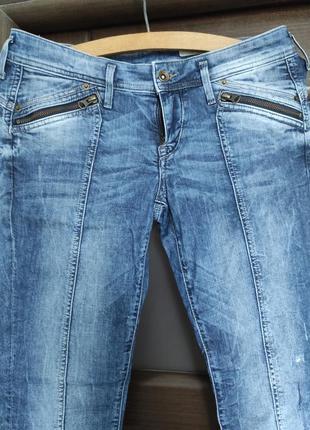 Стильные женские джинсы синие турция сині джинси