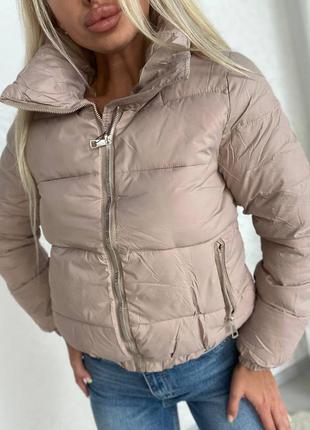 🍁стильная куртка из синтепона демисезонная курточка