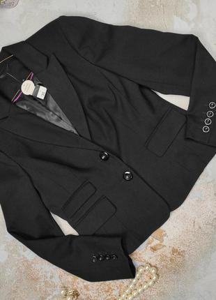 Пиджак жакет новый красивый f&f uk 14/42/l