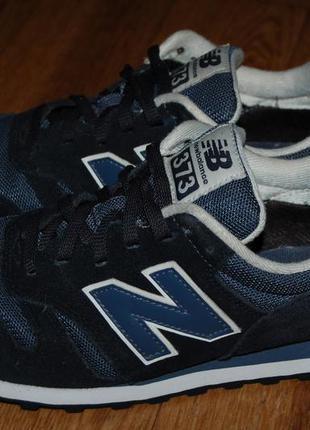 Кожаные кроссовки 43 р new balance 373 оригинал