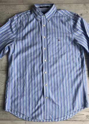Сорочка\рубашка gant regular fit heritage oxford shirt