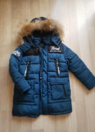 Зимняя куртка bilemi на мальчика