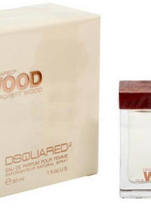 Женская парфюмированная вода dsquared2 she wood velvet forest wood 30 мл