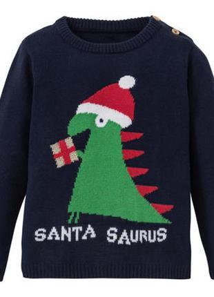 Новогодний свитер lupilu