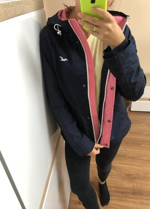 Куртка ветровка парка hollister all weather jacket