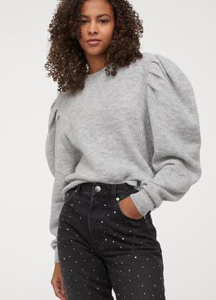 Новый джемпер, свитер, свитерок h&m. размер м.