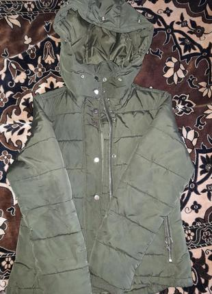 Куртка осень ,осенняя ,цвет хаки