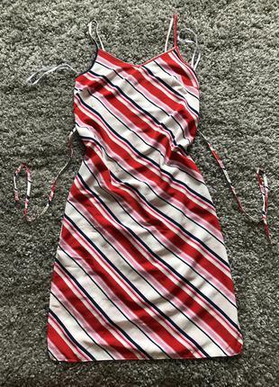 Платье сарафан с разрезами