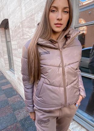 Куртка пуховик женская