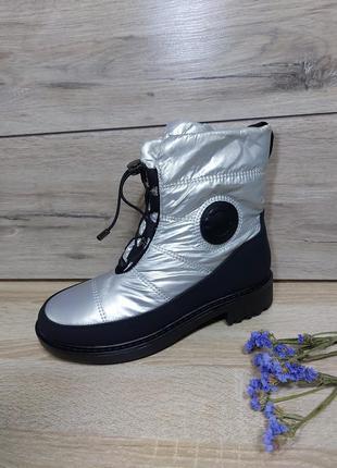 Водоотталкивающие осенние / зимние ботинки  ❄️ сапоги  дутики полусапожки женские теплые