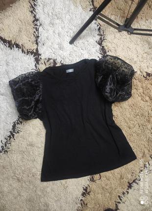 Фирменная нарядная футболка, блуза с коротким рукавом на девушку-подростка