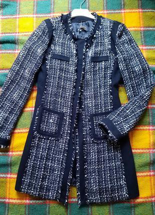 Пальто шерсть шерстяное демисезонное feldpausch 34 xs s