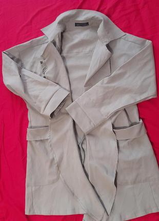 Трэнч пиджак кардиган накидка