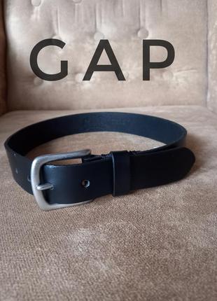 Кожаный ремень gap