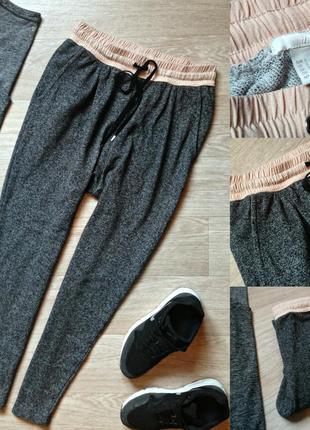 #61 трендовые спортивные штаны h&m