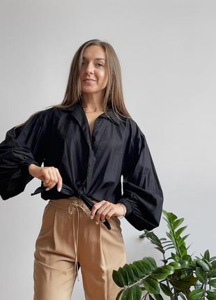 Блуза topshop на завязках