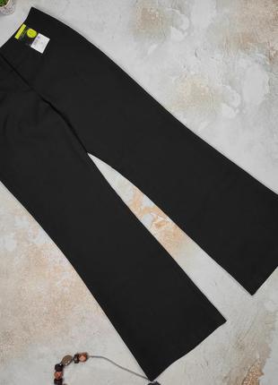 Штаны брюки новые изысканные классические черные f&f uk 10/38/s