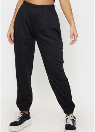 Спортивные штаны, джоггеры с начесом, большой размер