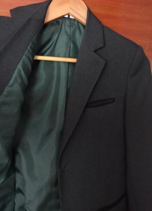 Піджак, жакет темно- зелений