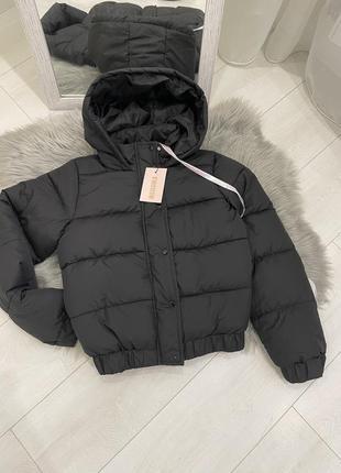 Укорочённая куртка пуффер