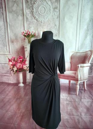 Стильное платье миди масло