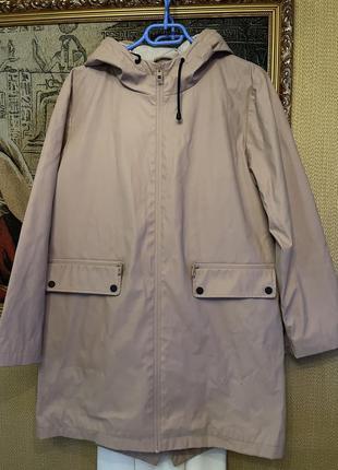 Крутая стильная куртка дождевик на подкладке , zara