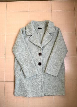 Мятное пальто f&f л-хл, 14