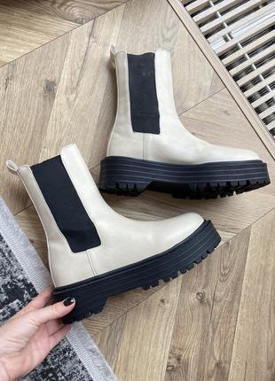 Ботинки челси pull&bear