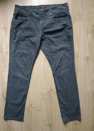 Якісні жіночі джинси великого розміру s.oliver share slim/женские джинсы 👖 стрейч