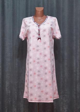 Ночнушка туніка, нічна сорочка, ночнушка, ночная рубашка 52-54р.