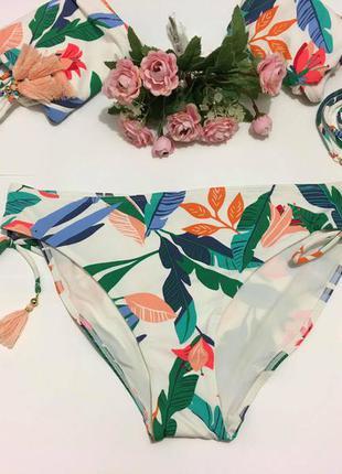 Шикарные яркие  плавки бикини новая коллекция англия