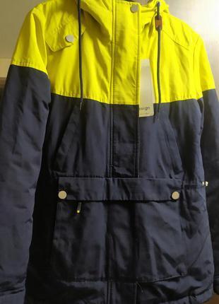Парка (анорак, куртка) демисезоная осенняя еврозима