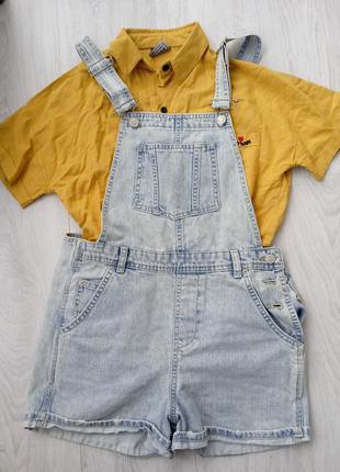 Комбінезон джинсовий, шорти, джинси