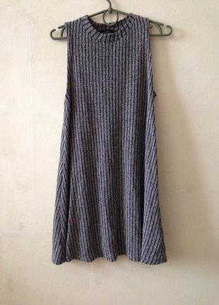 Вязаное платье-трапеция atmosphere