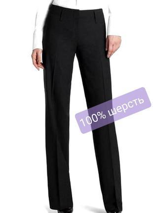 Люксовые шерстяные  100 % wool брюки на высокий рост austin reed 12-14 uk