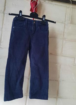 Штаны,брюки,вельветки на подкладе осень-зима lupilu 92-98-104