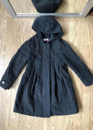 Плащик пальто осінь сіре базове