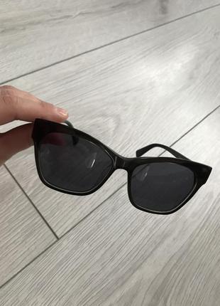 Черные очки, солнцезащитные очки, модные очки 2021 от max&co сонцезахисні окуляри.