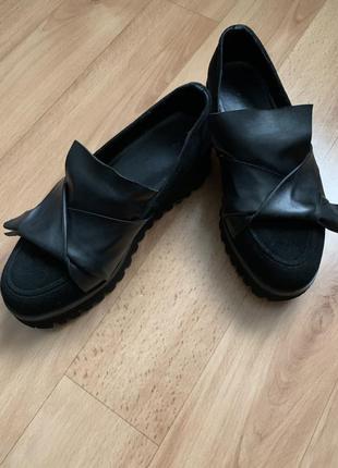 Туфли кожаные vitto rossi