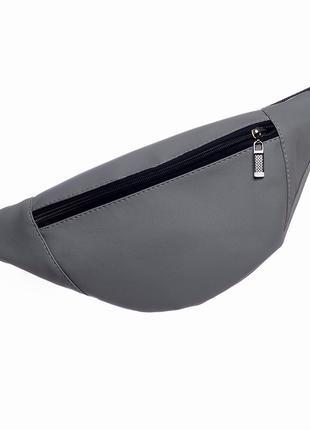 Мужская удобная вмстительная поясная сумка бананка, барсетка