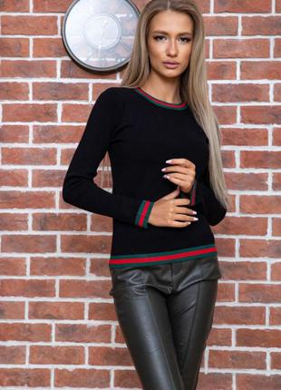 Женский свитер в стиле гучи