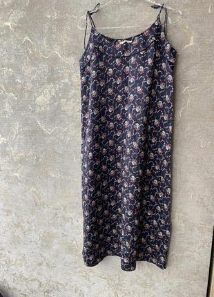 Натуральное шёлковое платье sleep dress