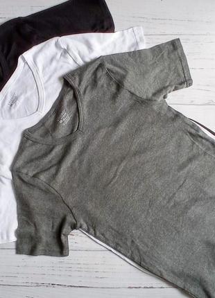 Натільні бавовняні футболки від livergy