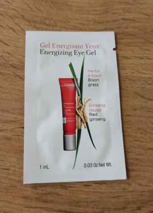 Clarins гель для устранения следов усталости под глазами men energizing eye gel