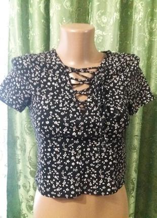 Топ/укороченная блузка