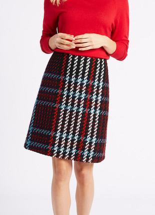 Буклированная юбка marks&spencer.