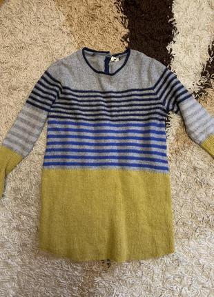 Шерстяной свитер с кашемиром и альпакой